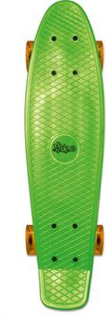 No Rules Skateboard fun green