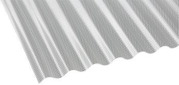 Gutta Polycarbonat Wellplatte Sinus 76/18 Wabe HS 3000 x 1045mm Elefantenplatte