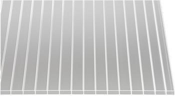 Gutta Acryl Hohlkammerplatte 16-32 klar 2500 x 980 x 16mm