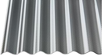 Gutta Acryl Wellplatte 76/18 Wabe graphit 2500 x 1045 x 3mm