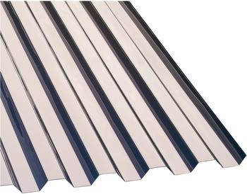 Gutta PVC Wellplatte Trapez 70/18 klar 2000 x 1090 x 0,8mm