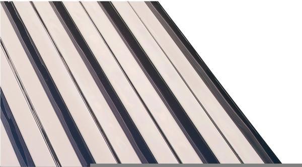 Gutta PVC Wellplatte Trapez 70/18 klar 2500 x 1090 x 0,8mm
