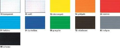Ursus Bastel-Stegplatten 50 x 70 cm (10Stück) weiß