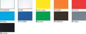 Ursus Bastel-Stegplatten 50 x 70 cm (10Stück) dunkleblau