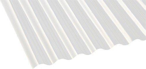 Gutta Polyester Wellplatte Sinus 76/18 natur 2000 x 1000mm