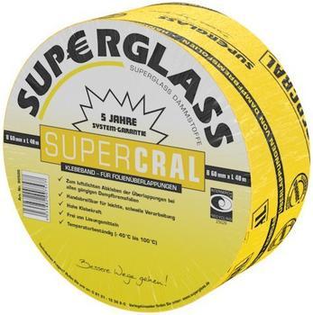 Superglass Supercral Klebeband 40m x 60mm