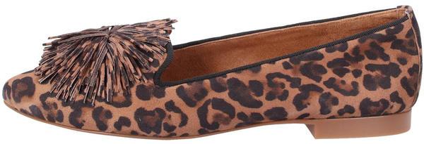 Paul Green Ladies Loafers (2376) brown leo