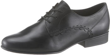 Tamaris Derbys (1-1-23218-24) black leather