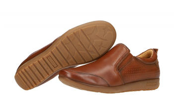 Pikolinos Ladies Loafers Lisboa brown (W67-3709 cuero)