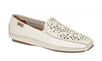 Pikolinos Ladies Loafers white (578-3786 nata)