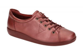 Ecco Ladies Lace Up Shoes red (20650352193)