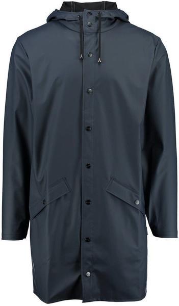 Rains Long Jacket dark blue (1202-02)