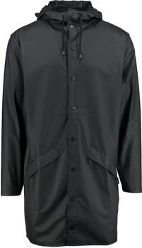 Rains Long Jacket black (1202-01)
