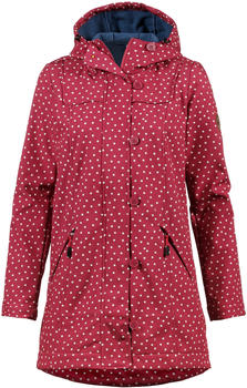 blutsgeschwister Wild Weather Long Anorak dot and love rot
