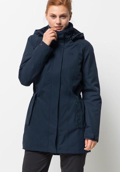 Jack Wolfskin Madison Avenue Coat midnight blue