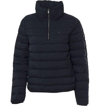 Tommy Hilfiger Basic Quilted Hooded Popover (DW0DW05782-002)