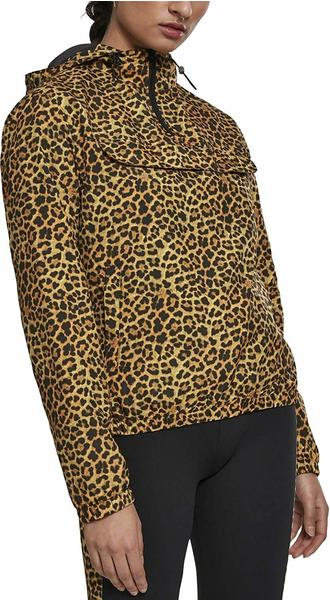 Urban Classics Ladies Pattern Pull Over Jacket leo