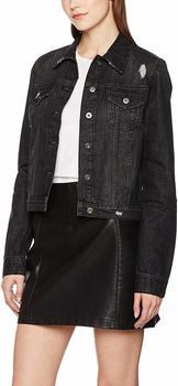 Urban Classics Ladies Denim Jacket black washed (TB1542-709)