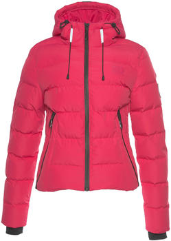 Superdry Spirit Puffer Icon Jacket rose red