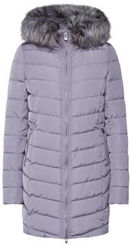 Only Long Quilted Jacket silver filigree (15183994)