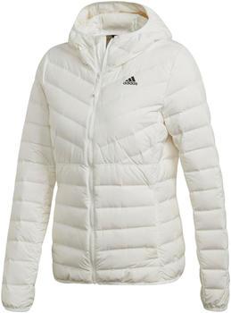 Adidas Women Lifestyle Varilite 3-Stripes Hooded Down Jacket core white (DZ1504)