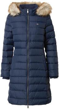 Tommy Hilfiger Essential Faux Fur Hooded Down Coat (DW0DW09060) twilight navy