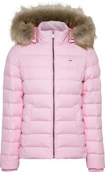 Tommy Hilfiger TJW Basic Hooded Down Jacket (DW0DW08588) romantic pink