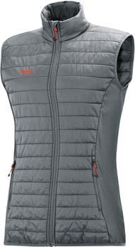 JAKO Quilted Vest Women (7005-40) grey