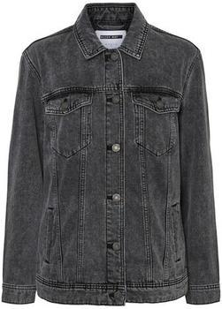 Noisy May Nmole L/s Denim Jacket Dg S* (27015713) dark grey denim