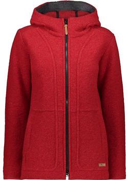 CMP Wool Blend Coat With Hood (30M3376) blood