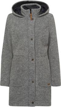 CMP Woolblend Parka wit Hood (30M3386-U510) grey melange