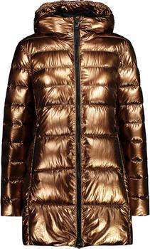 CMP Mid-Legth Parka With Foil Efect (30K3506) bronze