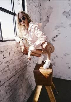 Urban Classics Ladies Basic Pull Over Jacket (TB2013-00760-0042) light pink