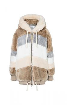 Bogner Faux Fur-Jacket Indra (204-3170-4055) beige
