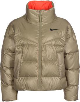 Nike Sportswear Down-Fill Jacket (CU5813) mystic stone/bright crimson/black