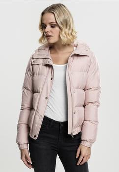 Urban Classics Ladies Hooded Puffer Jacket (TB1756-00823-0042) lightrose