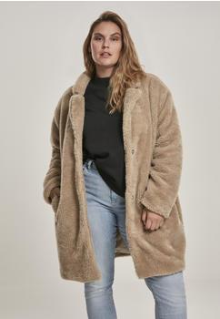 Urban Classics Ladies Oversized Sherpa Coat (TB3058-00208-0039) sand