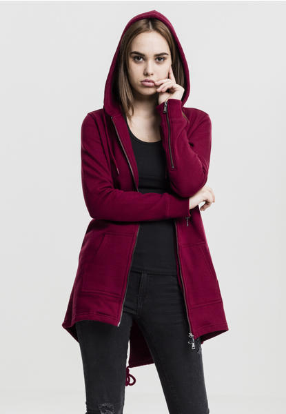 Urban Classics Ladies Sweat Parka (TB1075-00606-0042) burgundy