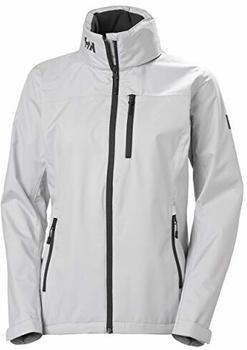 Helly Hansen Crew Hooded Jacket Women (33899) grey fog