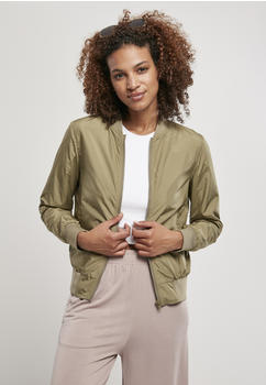 Urban Classics Ladies Light Bomber Jacket (TB1217-00472-0037) khaki