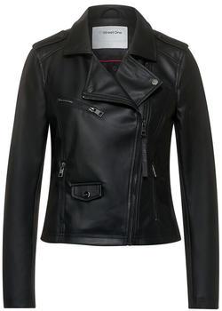 Street One Faux Leather Jacket (A21128210001) black