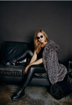 Urban Classics Ladies Leo Teddy Coat (TB3061-02064-0037) grey leo