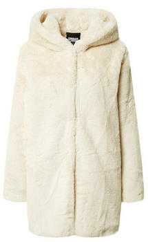 Urban Classics Ladies Hooded Teddy Coat (TB2375-00555-0037) offwhite