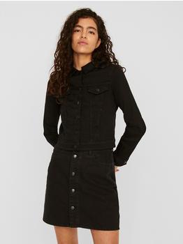 Vero Moda Vmtine Ls Slim Denim Jacket Mix Ga Noos (10248564) black denim