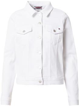 Tommy Hilfiger Slim Fit Denim Jacket (WW0WW30613) white