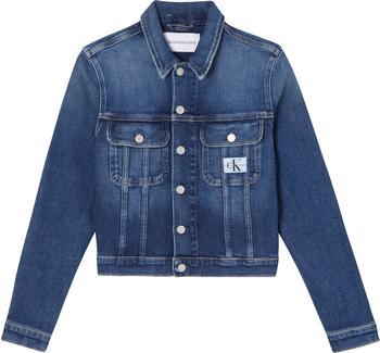 Calvin Klein Cropped 90S Jeansjacket (J20J215381) denim dark