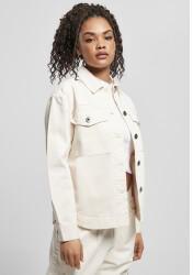Urban Classics Ladies Oversized Shirt Jacket (TB4366-02903-0037) whitesand