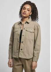 Urban Classics Ladies Oversized Shirt Jacket (TB4366-00472-0037) khaki
