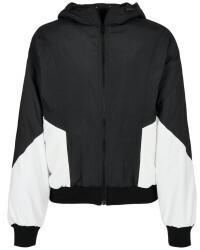 Urban Classics Ladies Padded 2-tone Batwing Jacket (TB3644-00826-0037) black/white