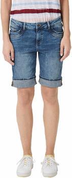 S.Oliver Smart Bermuda: Stretch Jeans (04.899.72.5086) middle blue denim